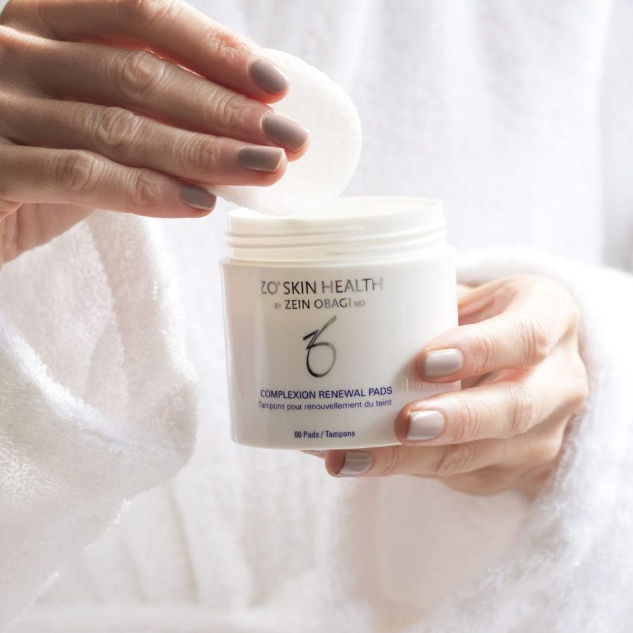 Clear Up Maskne Without Drying Out Your Skin with ZO Complexion Renewal Pads